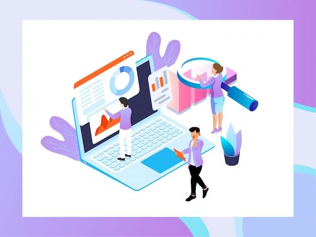 Data analysis concept. Vector | Premium Download