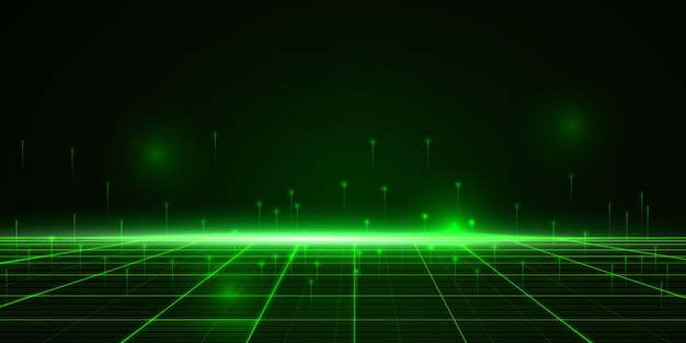 Data technology cyber abstract background Premium Vector