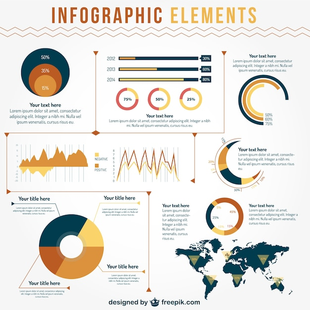 Data visualisation infographic elements vector free download data visualisation infographic elements free vector publicscrutiny Images