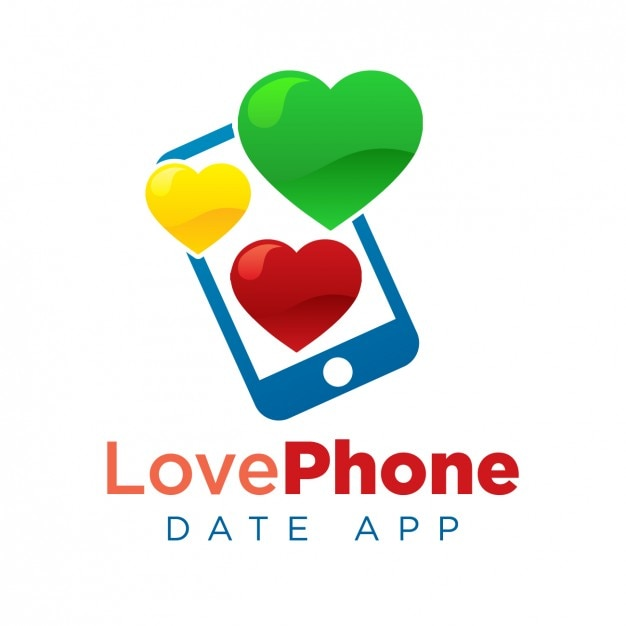 date app logo template vector free download