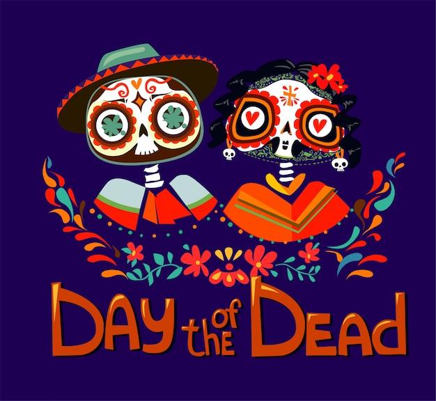 Day of the dead Premium Vector
