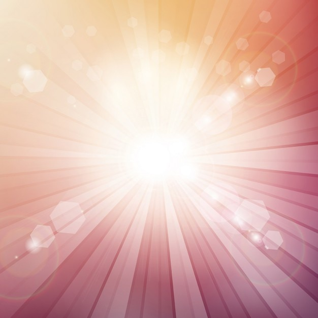 decorative background with sun rays vector free download