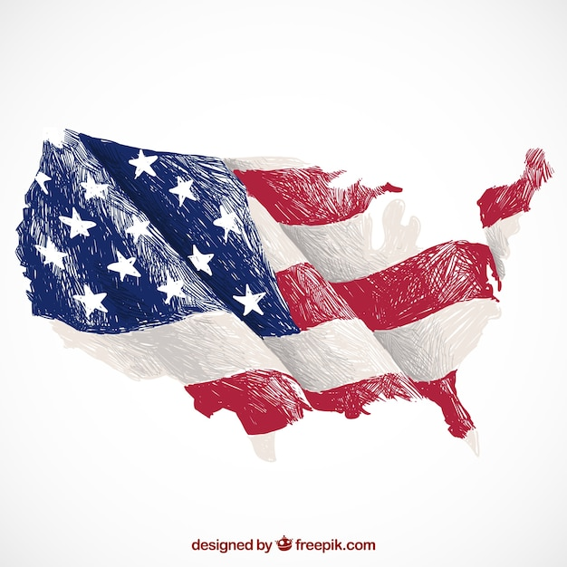 Usa Vectors Photos And PSD Files Free Download - Us vector map on transparent back