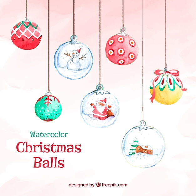 Decorative Ball Background Vector Free Download
