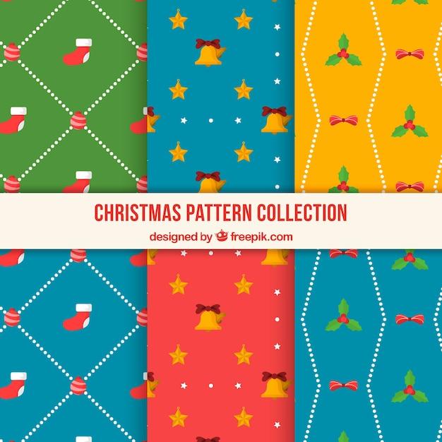 Decorative christmas patterns
