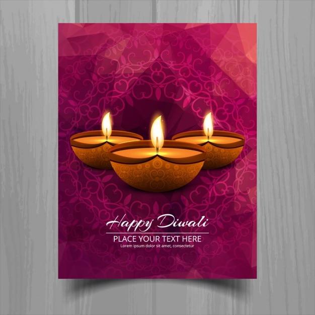 Decorative diwali greeting card vector free download decorative diwali greeting card free vector m4hsunfo