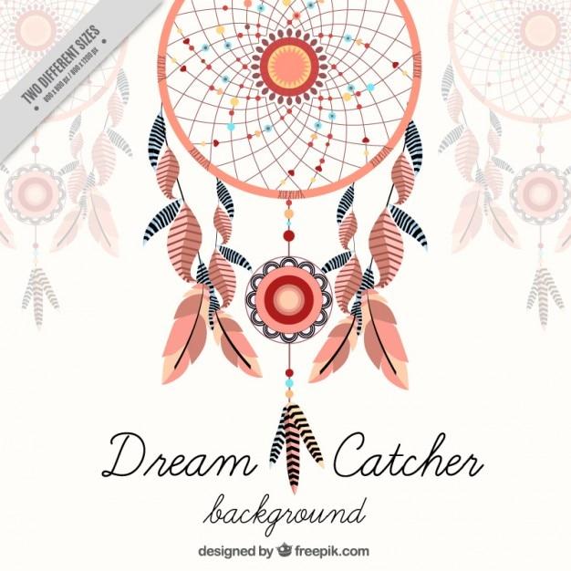 Dreamcatcher vectors photos and psd files free download decorative dreamcatcher background voltagebd Gallery