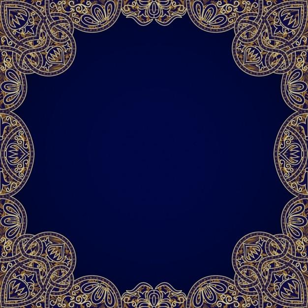 Decorative frame design Vector | Free Download