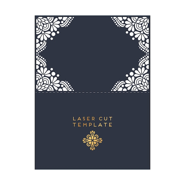 Decorative laser cut template for wedding vector free download decorative laser cut template for wedding free vector junglespirit Choice Image