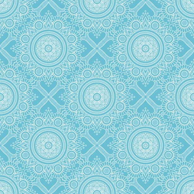 Decorative pattern design Vector | Free Download