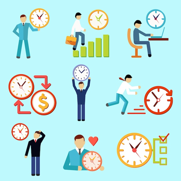 Time Management Vectors Photos And Psd Files  Free Download