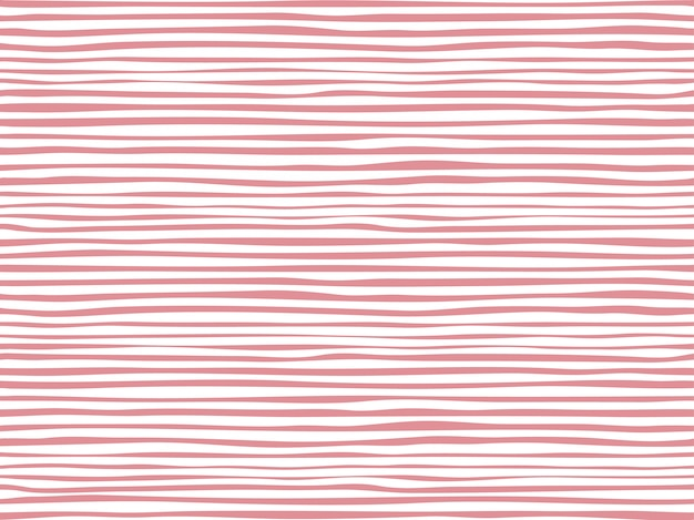 Decorative stripes seamless pattern Premium Vector
