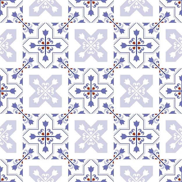 Дизайн декоративной плитки Premium векторы