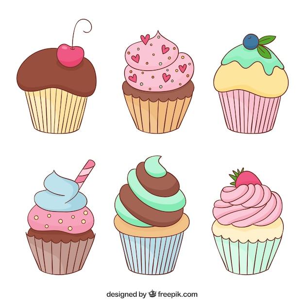Designed by Freepik (http://www.freepik.com/free-vector/delicious-cupcakes_796001.htm)