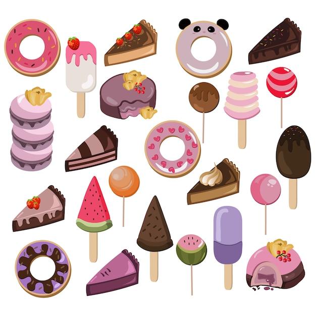 Delicious dessert collection