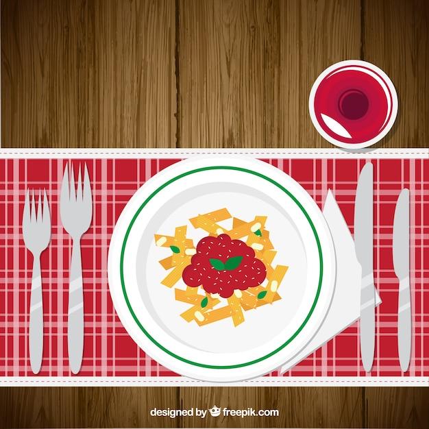 Delicious restaurant dish