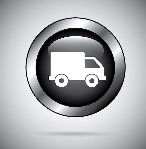 Delivery design Free Vector