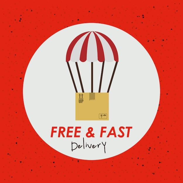 Delivery design Premium Vector