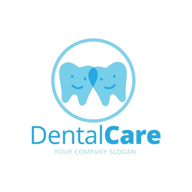 Dental Logo Template Free Vector