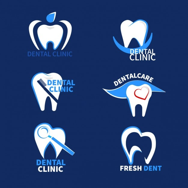 Dental logotypes Vector | Free Download