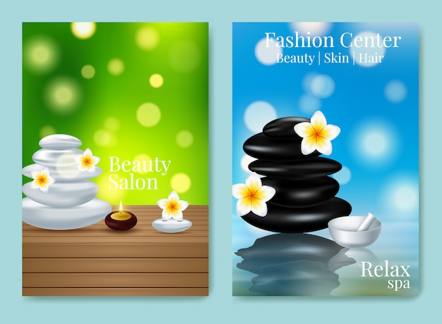 Design advertising poster for cosmetic product for catalog Premium Vector