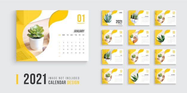 Calendar Template Images | Free Vectors, Stock Photos & PSD