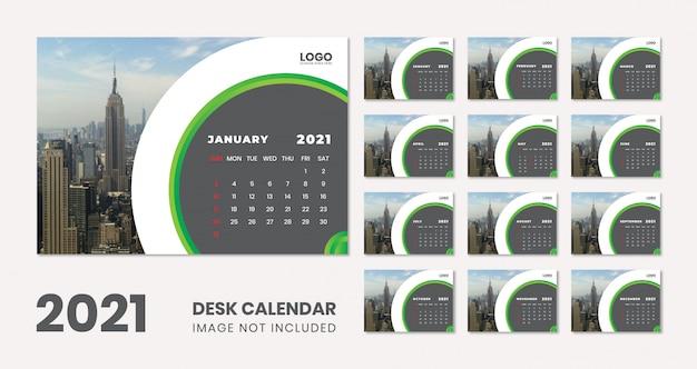 Desk calendar Premium Vector