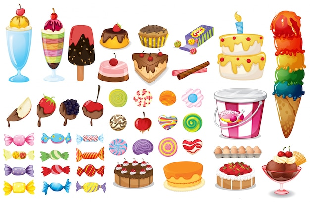 Unhealthy Food Cakes