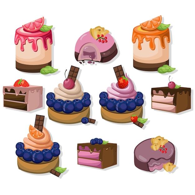 Dessert design collection