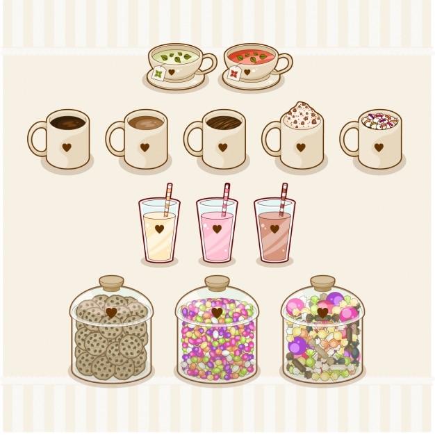 Dessert elements design