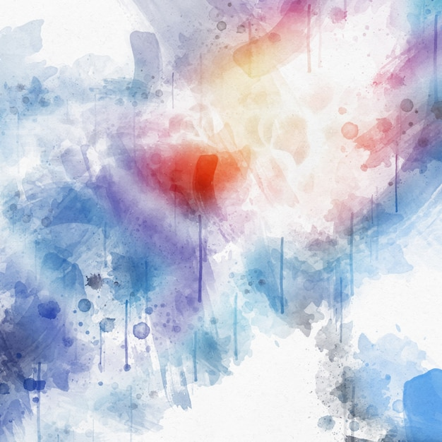 Detailed watercolor texture background Free Vector