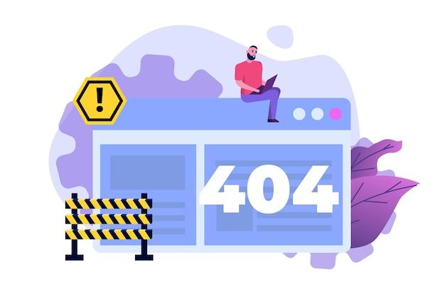 Developing web site, website under construction Premium Vector