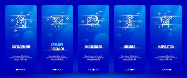 Development, creative research, share ideas, big idea, inspiration
