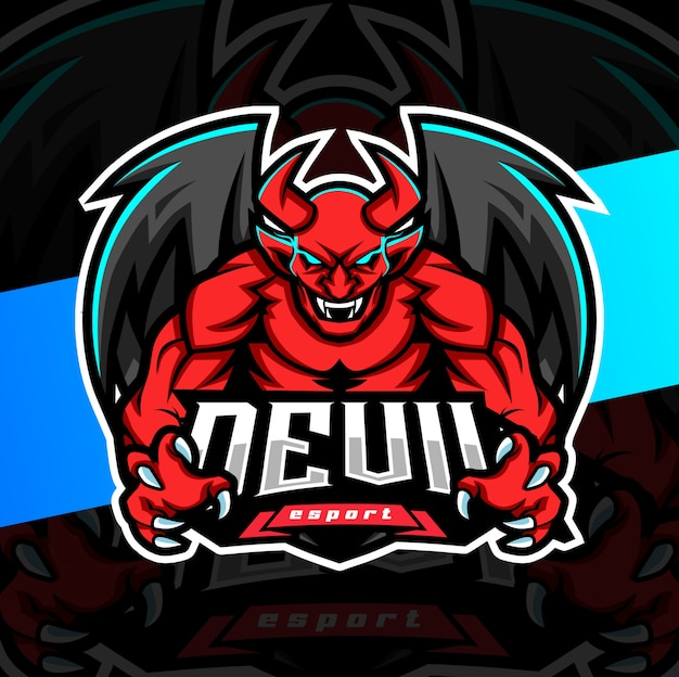 premium vector devil mascot esport logo design https www freepik com profile preagreement getstarted 6885523