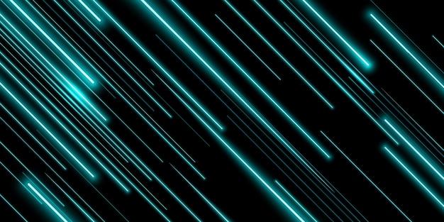 Linea al neon a luce diagonale Vettore gratuito