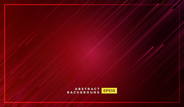 Diagonal stripes lines falling with shadow and glowing light illustration Premium Vector