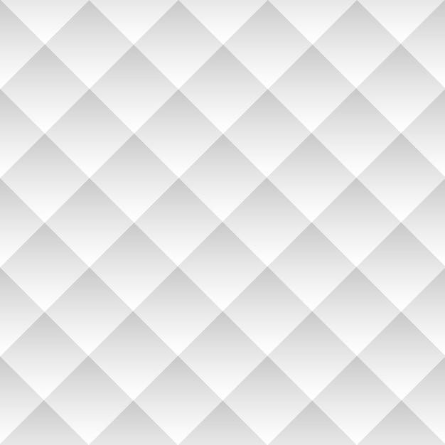 Diagonal white geometric background seamless pattern Premium Vector