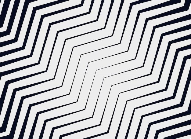 Diagonal zigzag vector pattern background Free Vector