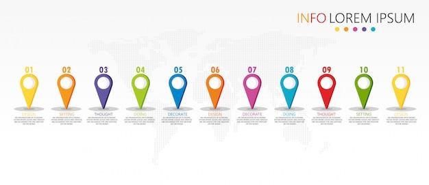 教育とベクターデザインで使用される図は、ビジネス教育の図を活用します。 Premiumベクター