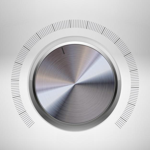 Dial button design Free Vector