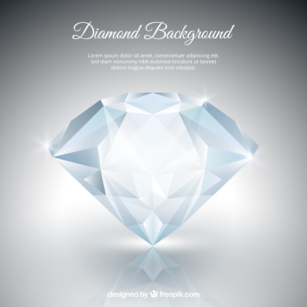 diamond background vector free download