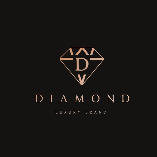 Diamond Logo Design Vector Free Download