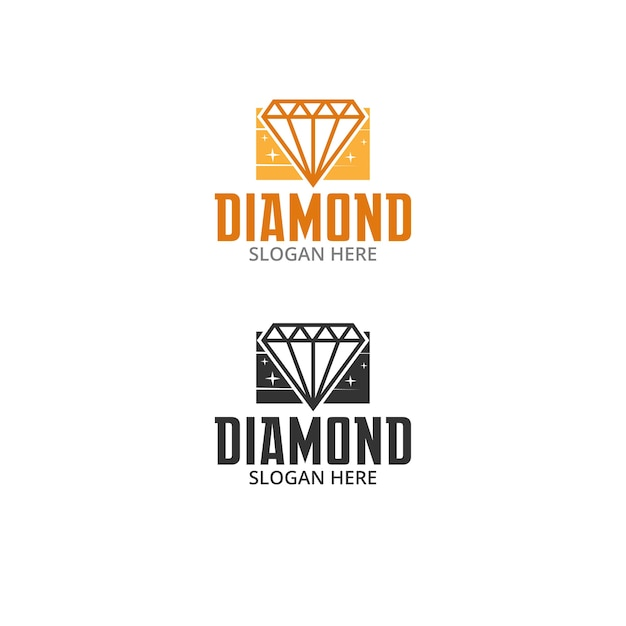 Diamond Premium Vector