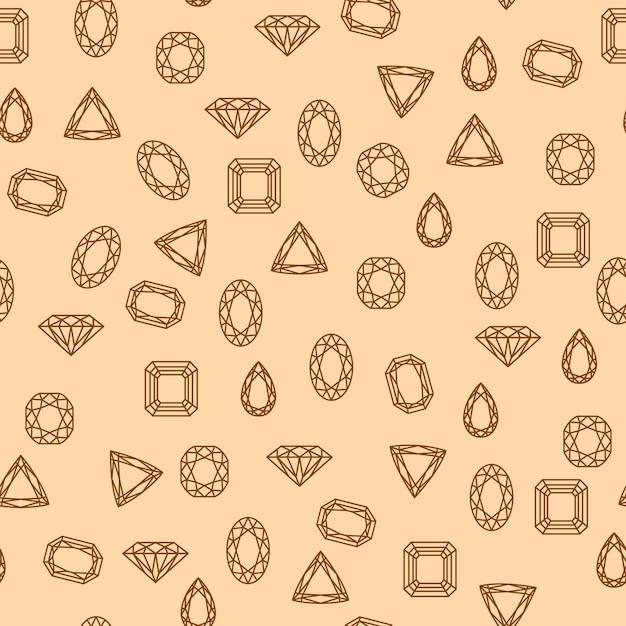 Алмазы Бесплатные векторы