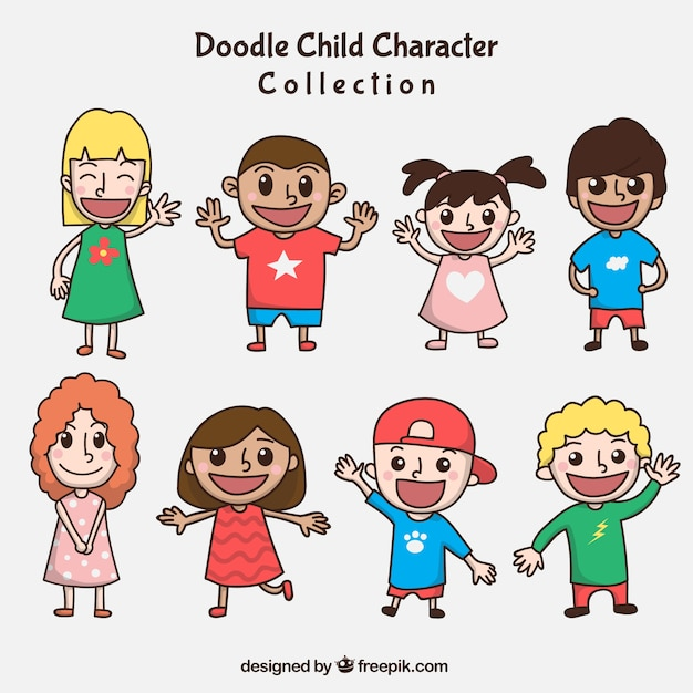 Different characters to celebrate children\'s\ day