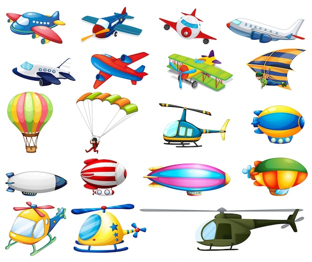 Different Modes Of Air Transportation_1148477 on Modes Of Transportation