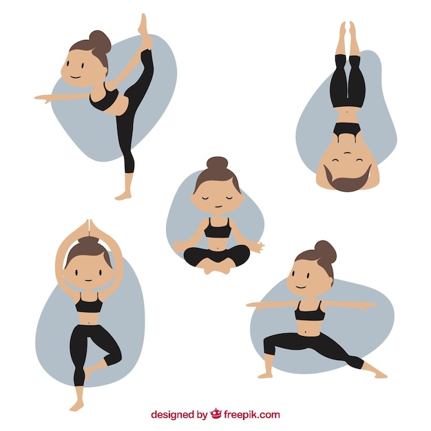 Pilates Vector pilates vectors , photos and psd files free download