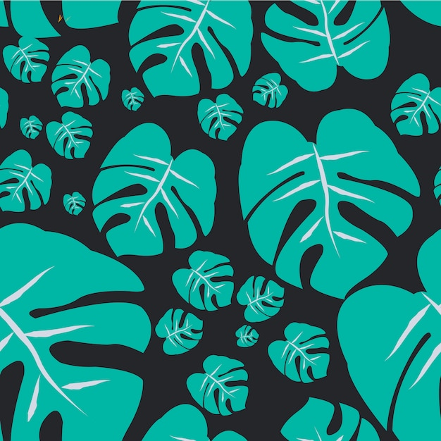 Different style leaves vector Free Vector