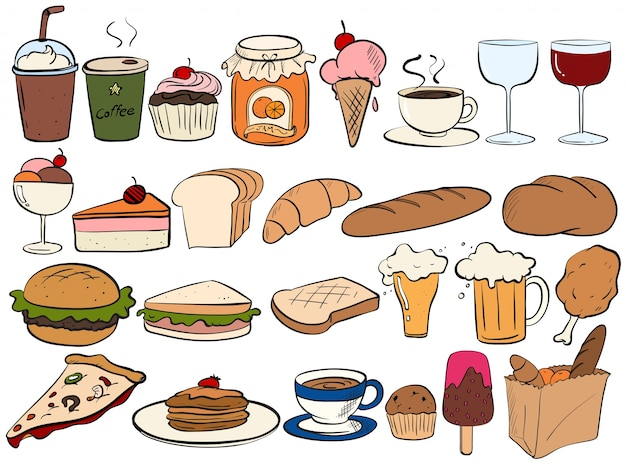 Different Type Of Food And Drinks Stock Images Page Everypixel