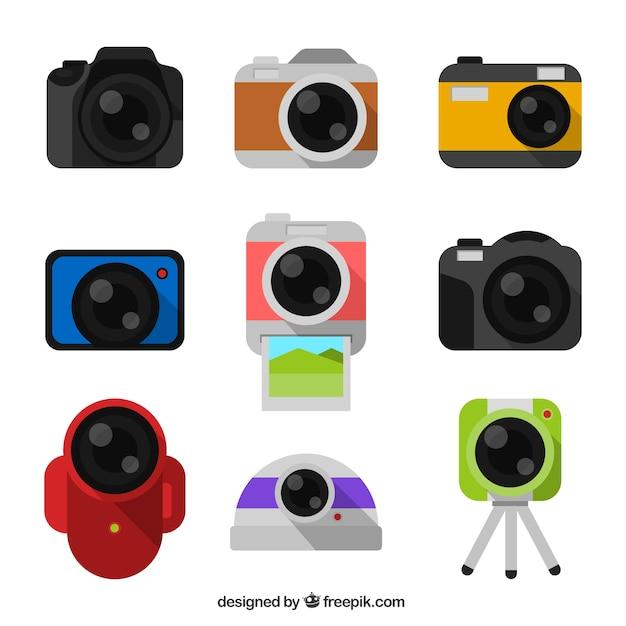 Digital cameras collection